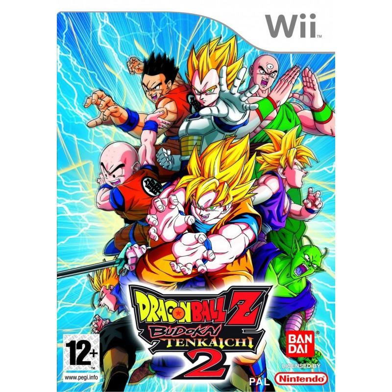 WII DRAGONBALL Z TENKAICHI 2 - Jeux Wii au prix de 9,95€