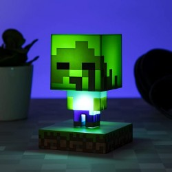 LAMPE MINECRAFT ZOMBIE - Lampes Décor au prix de 14,95€