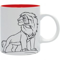 MUG DISNEY LE ROI LION SIMBA 320ML - Mugs au prix de 14,95€
