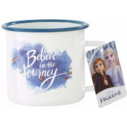 MUG DISNEY REINE DES NEIGES 2 BELIEVE IN THE JOURNEY 320ML - Mugs au prix de 12,95 €