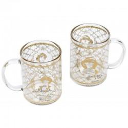 MUG DISNEY ALADDIN SET THEIERE ET 2 MUG LAMPE - Mugs au prix de 24,95€