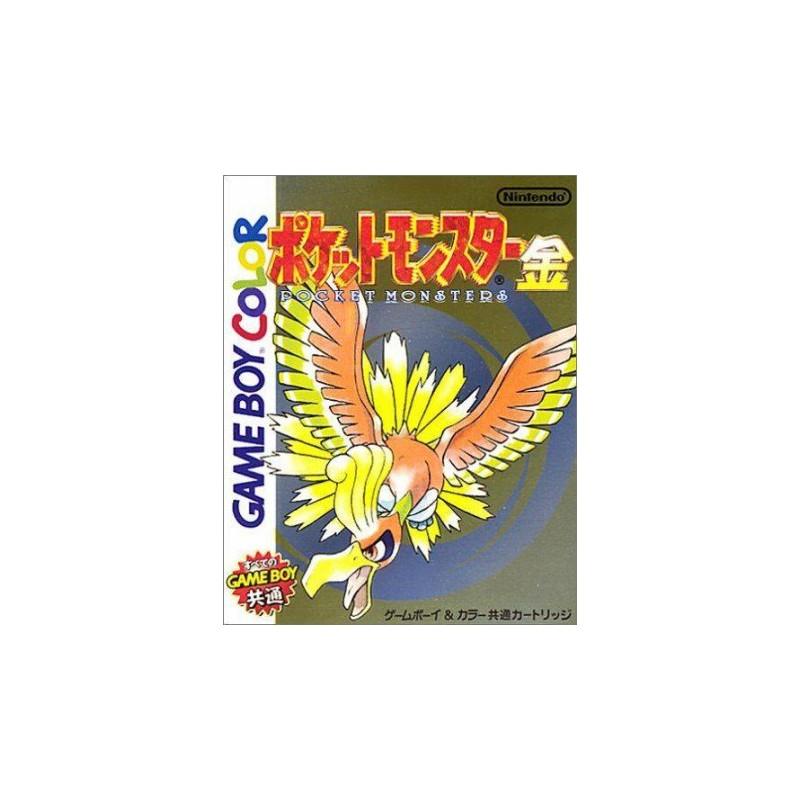 GB POKEMON OR (IMPORT JAP) - Jeux Game Boy au prix de 29,95€