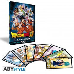 JEU DE 7 FAMILLES DRAGON BALL SUPER - Cartes à collectionner ou jouer au prix de 4,95€