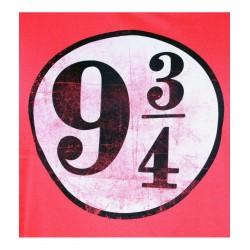 TSHIRT HARRY POTTER 9 34 ROUGE TAILLE M - Textile au prix de 19,95€