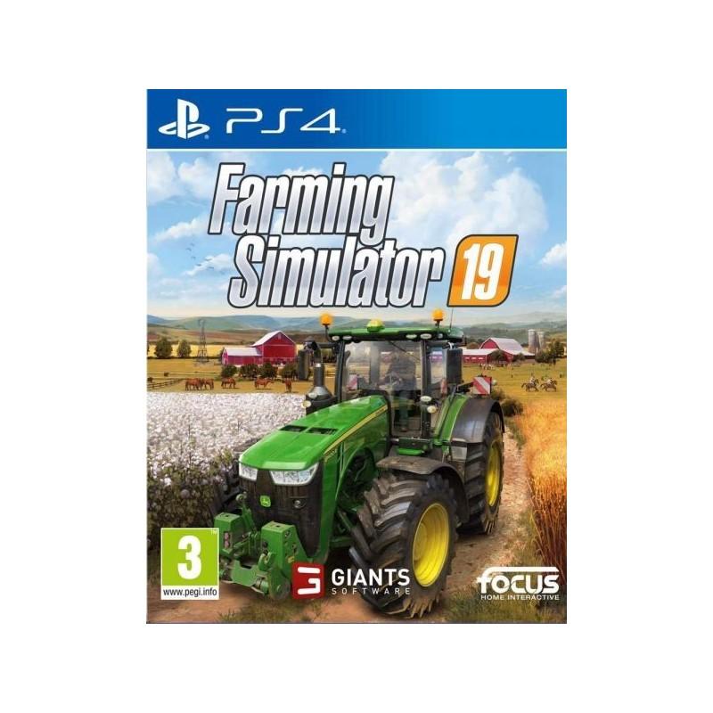 PS4 FARMING SIMULATOR 19 OCC - Jeux PS4 au prix de 24,95€