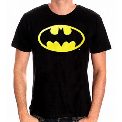 TSHIRT DC COMICS BATMAN LOGO NOIR TAILLE M - Textile au prix de 19,95€