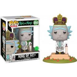 POP RICK & MORTY 694 KING OF S!+ (SONORE) - Figurines POP au prix de 39,95€