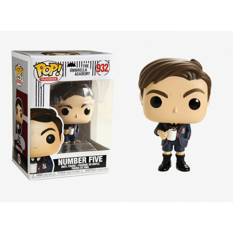 POP UMBRELLA ACADEMY 932 NUMBER FIVE - Figurines POP au prix de 14,95€