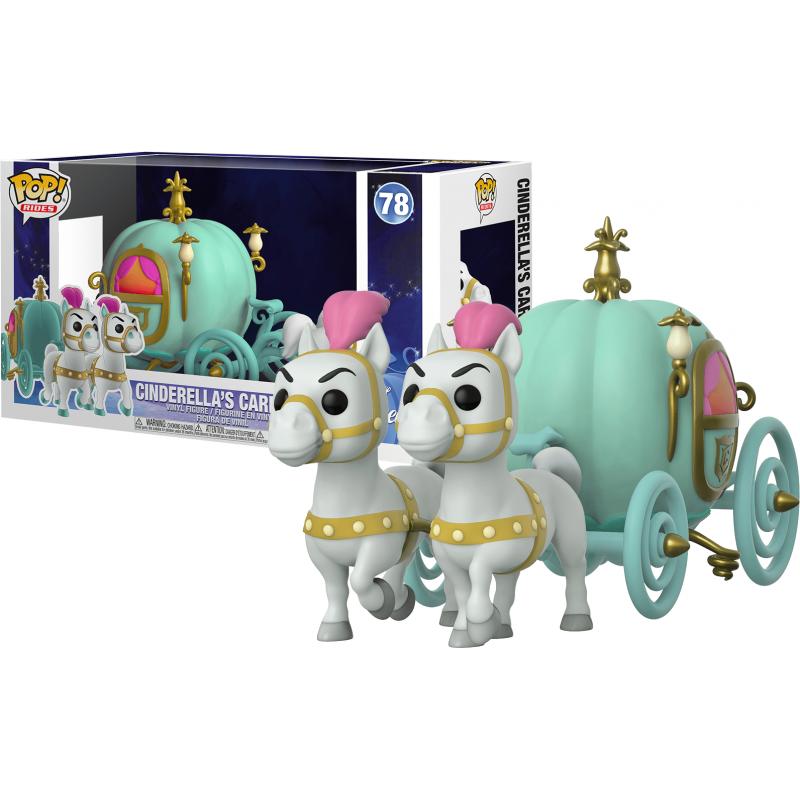 POP DISNEY 78 CENDRILLON CARROSSE DE CENDRILL0N GIANT POP - Figurines POP au prix de 39,95€