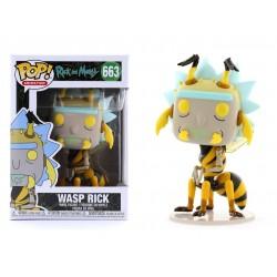 POP RICK AND MORTY 663 WASP RICK - Figurines POP au prix de 14,95€
