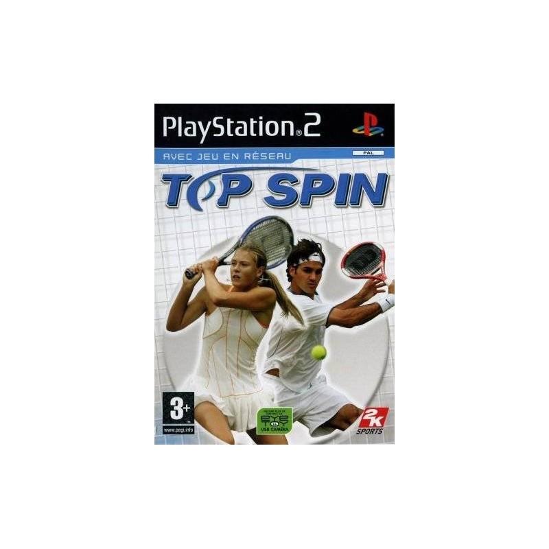 PS2 TOP SPIN - Jeux PS2 au prix de 2,95€