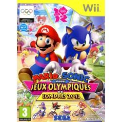 WII MARIO ET SONIC AUX J.O DE LONDRES 2012 - Jeux Wii au prix de 14,95€