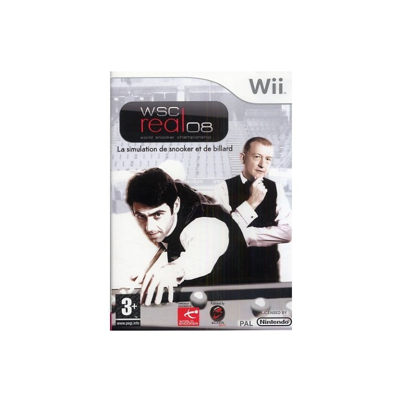 WII WORLD SNOOKER CHAMPIONSHIP REAL 08 - Jeux Wii au prix de 0,00 €