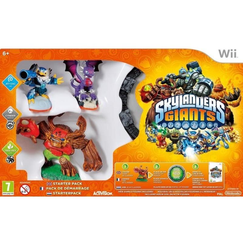 WII SKYLANDERS GIANTS PACK DE DEMARRAGE - Jeux Wii au prix de 12,95€