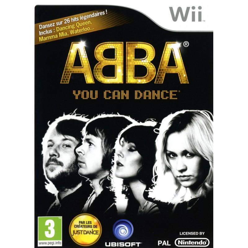 WII JUST DANCE BEST OF ET ABBA - Jeux Wii au prix de 29,95€