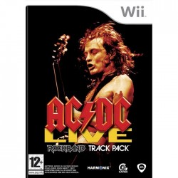 WII ROCKBAND ACDC LIVE - Jeux Wii au prix de 19,95€