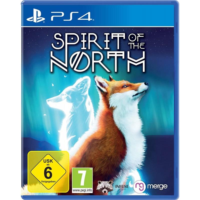 PS4 SPIRIT OF THE NORTH - Jeux PS4 au prix de 24,95€