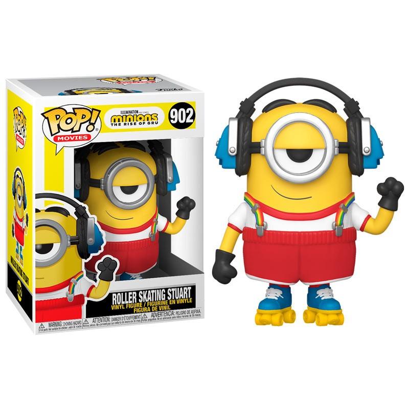 POP MINIONS 2 902 SKATEUR STUART - Figurines POP au prix de 14,95€