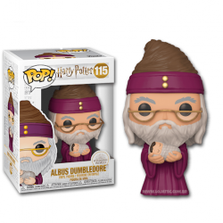 POP HARRY POTTER 115 ALBUS DUMBLEDORE AND BABY HARRY - Figurines POP au prix de 14,95 €