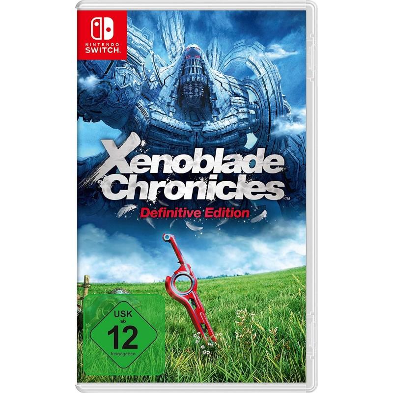 SWITCH XENOBLADE CHRONICLES DEFINITIVE EDITION OCC - Jeux Switch au prix de 34,95€