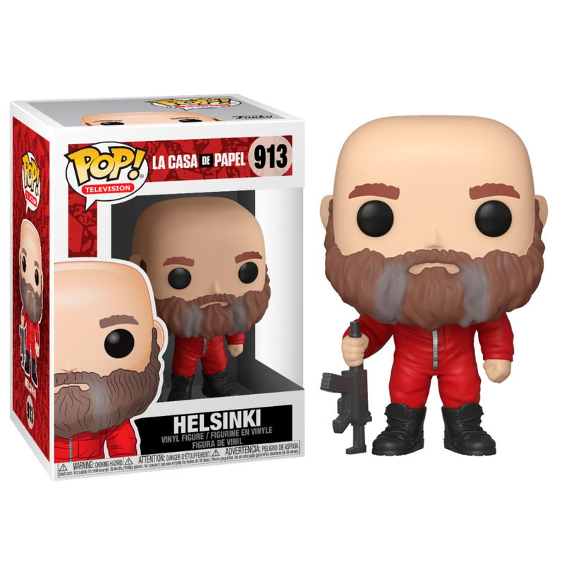 POP LA CASA DE PAPEL 913 HELSINKI - Figurines POP au prix de 14,95€