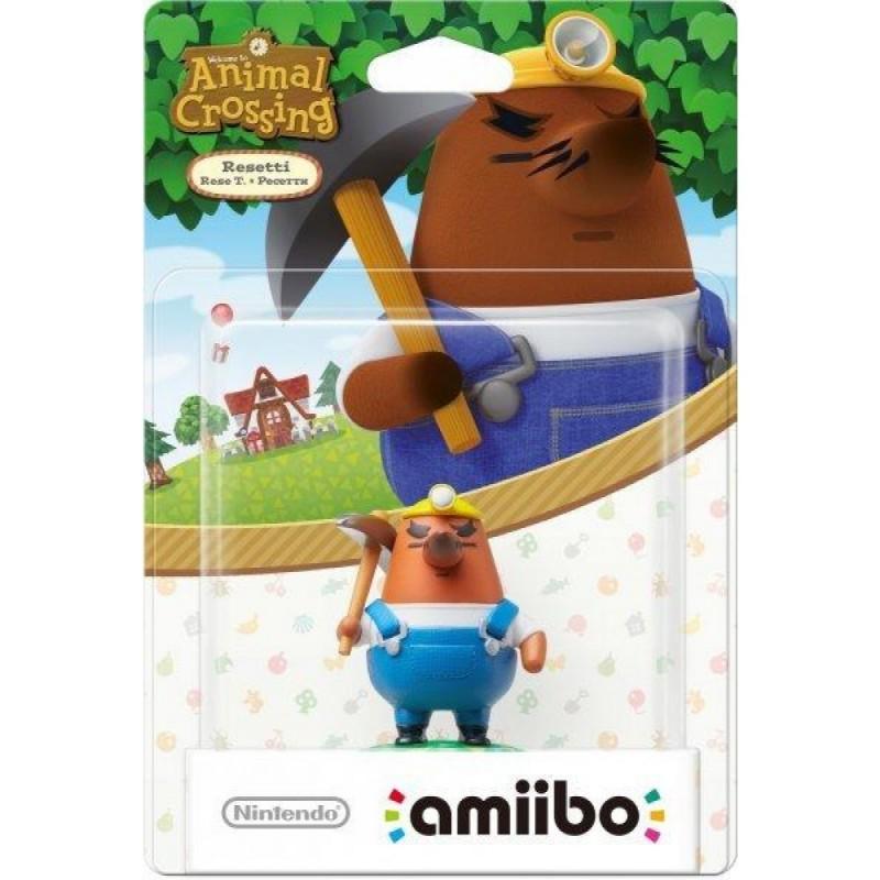 AMIIBO ANIMAL CROSSING RESETTI REESE T - Figurines NFC au prix de 14,95€