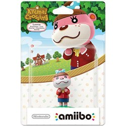 AMIIBO ANIMAL CROSSING LOU LOTTIE - Figurines NFC au prix de 14,95 €