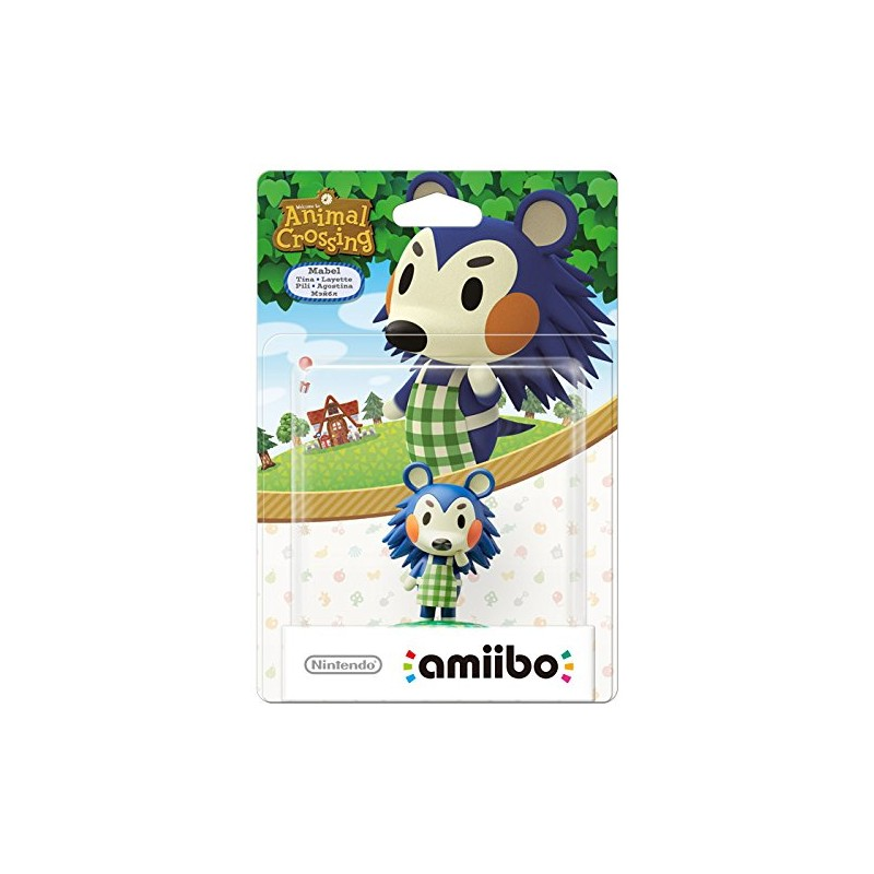 AMIIBO ANIMAL CROSSING LAYETTE MABEL - Figurines NFC au prix de 14,95 €