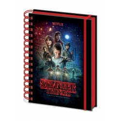 NOTEBOOK STRANGER THINGS A5 - Papeterie au prix de 6,95 €