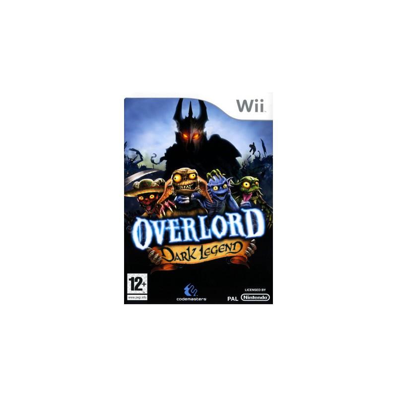 WII OVERLORD DARK LEGEND - Jeux Wii au prix de 6,95€