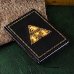 THE LEGEND OF ZELDA CAHIER LUMINEUX TRIFORCE - Papeterie au prix de 19,95€