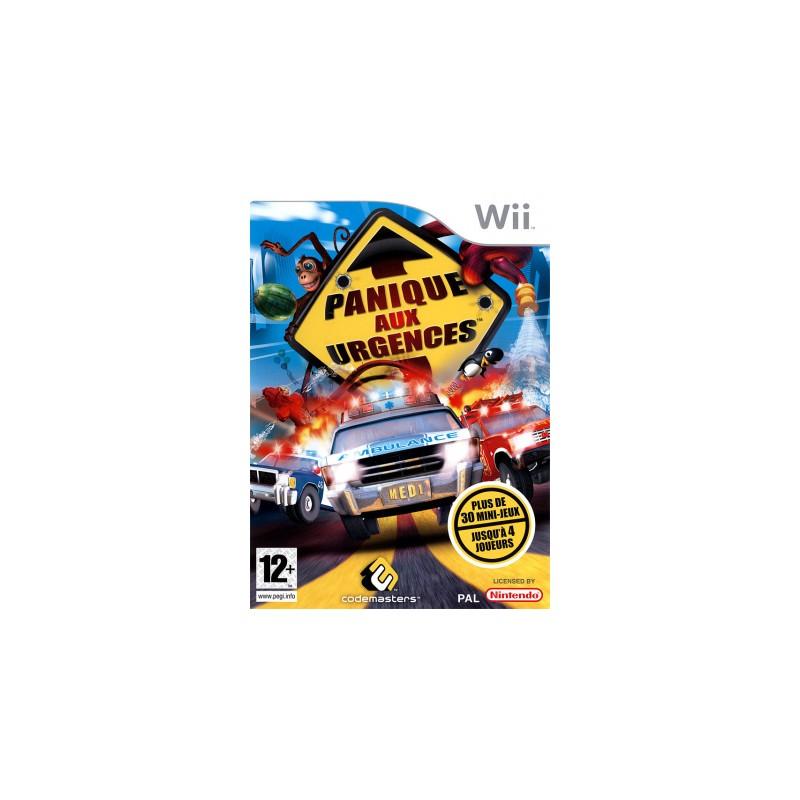 WII PANIQUE AUX URGENCES - Jeux Wii au prix de 9,95€