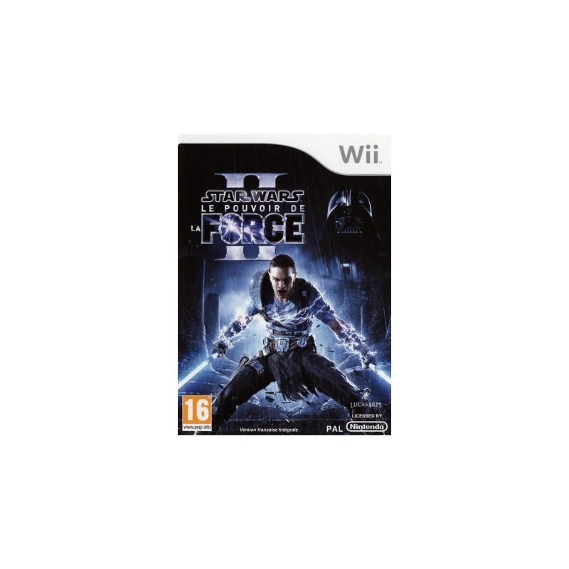 WII STAR WARS LE POUVOIR DE LA FORCE 2 - Jeux Wii au prix de 14,95€