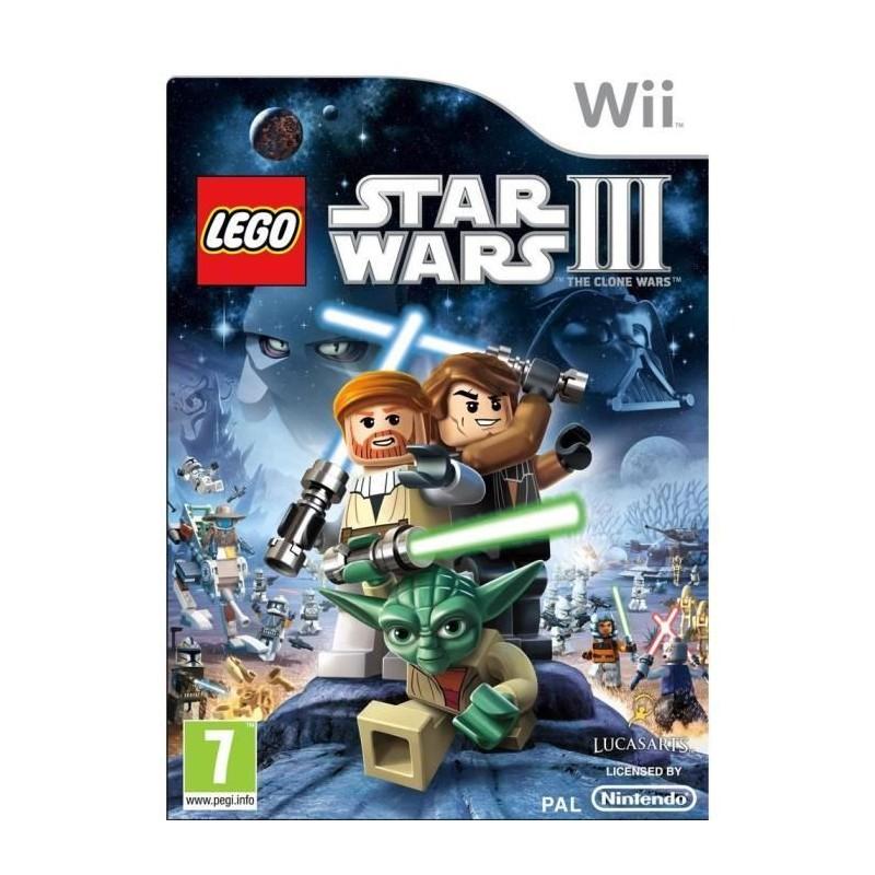 WII LEGO STAR WARS 3 CLONE WARS - Jeux Wii au prix de 12,95€