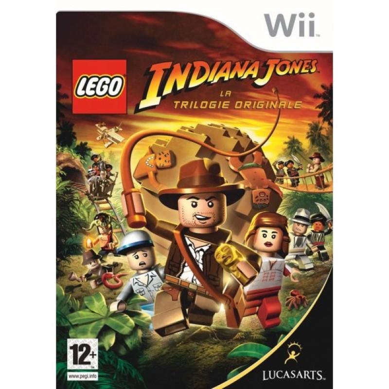 WII LEGO INDIANA JONES LA TRILOGIE ORIGINALE - Jeux Wii au prix de 14,95€