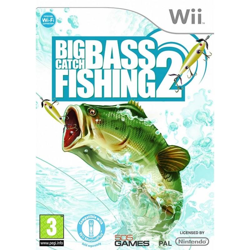 WII BIG CATCH BASS FISHING 2 - Jeux Wii au prix de 12,95€