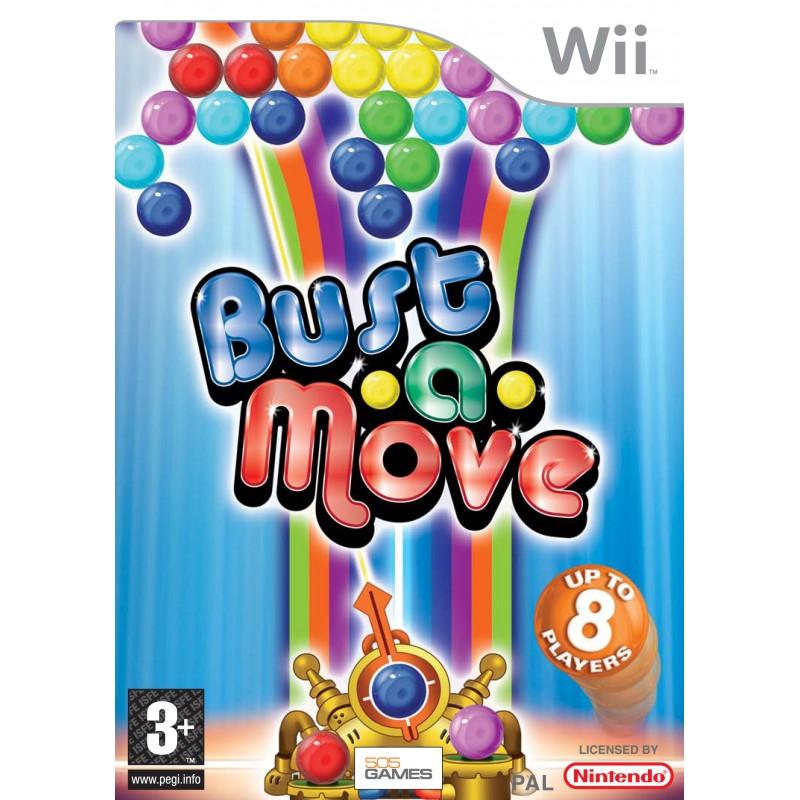 WII BUST A MOVE - Jeux Wii au prix de 12,95€