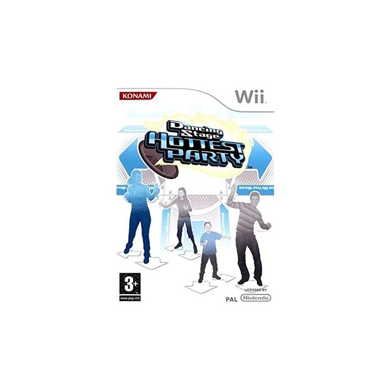WII DANCING STAGE PARTY - Jeux Wii au prix de 12,95€