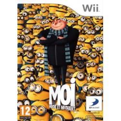 WII MOI MOCHE ET MECHANT - Jeux Wii au prix de 4,95€