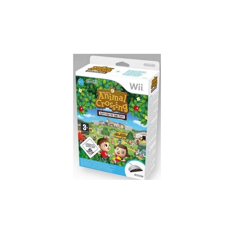 WII ANIMAL CROSSING ET WII SPEAK - Jeux Wii au prix de 14,95€