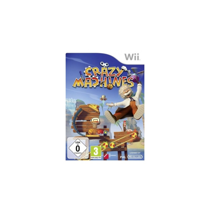 WII CRAZY MACHINES - Jeux Wii au prix de 10,95€