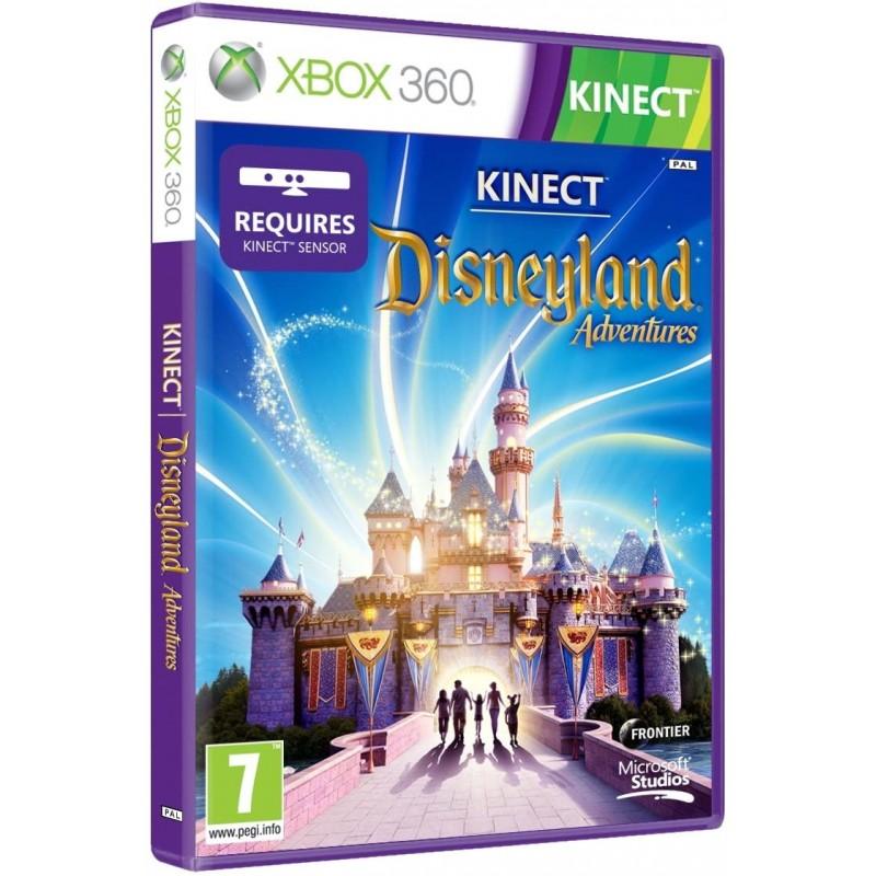 WII DISNEYLAND ADVENTURES KINECT - Jeux Wii au prix de 16,95€