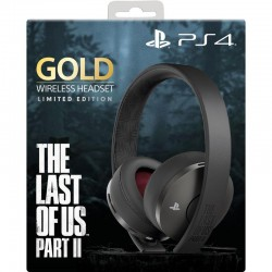 CASQUE PS4 BLUETOOTH GOLD EDITION THE LAST OF US PART II - Casques Gaming au prix de 99,95 €