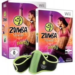 WII ZUMBA FITNESS AVEC CEINTURE - Jeux Wii au prix de 9,95€