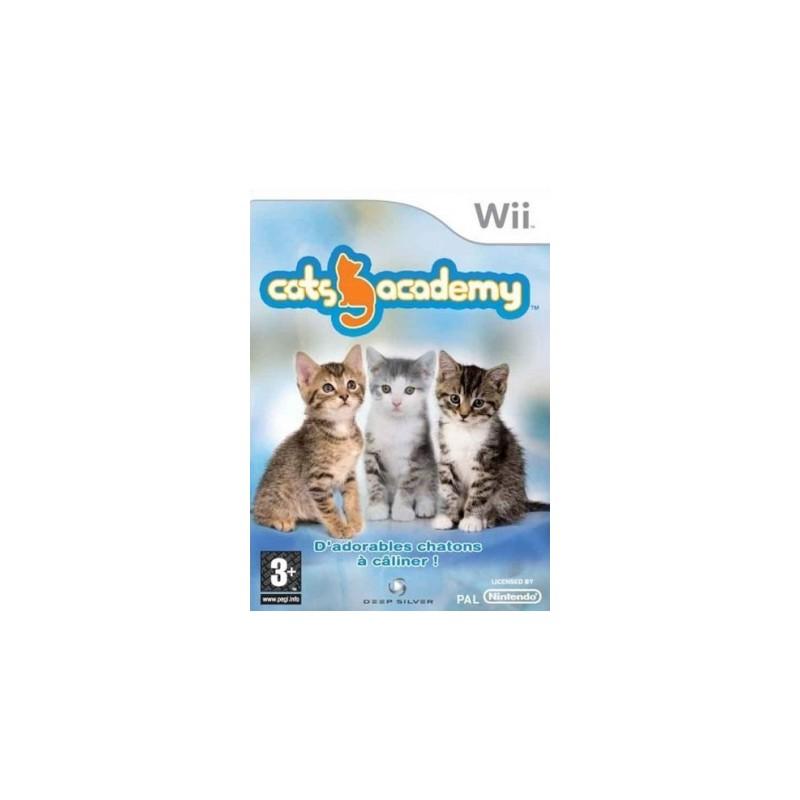 WII CATS ACADEMY - Jeux Wii au prix de 14,95€