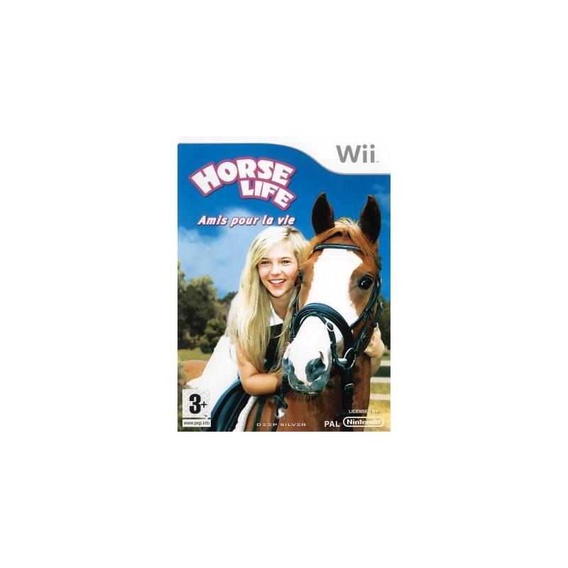 WII HORSE LIFE - Jeux Wii au prix de 12,95€