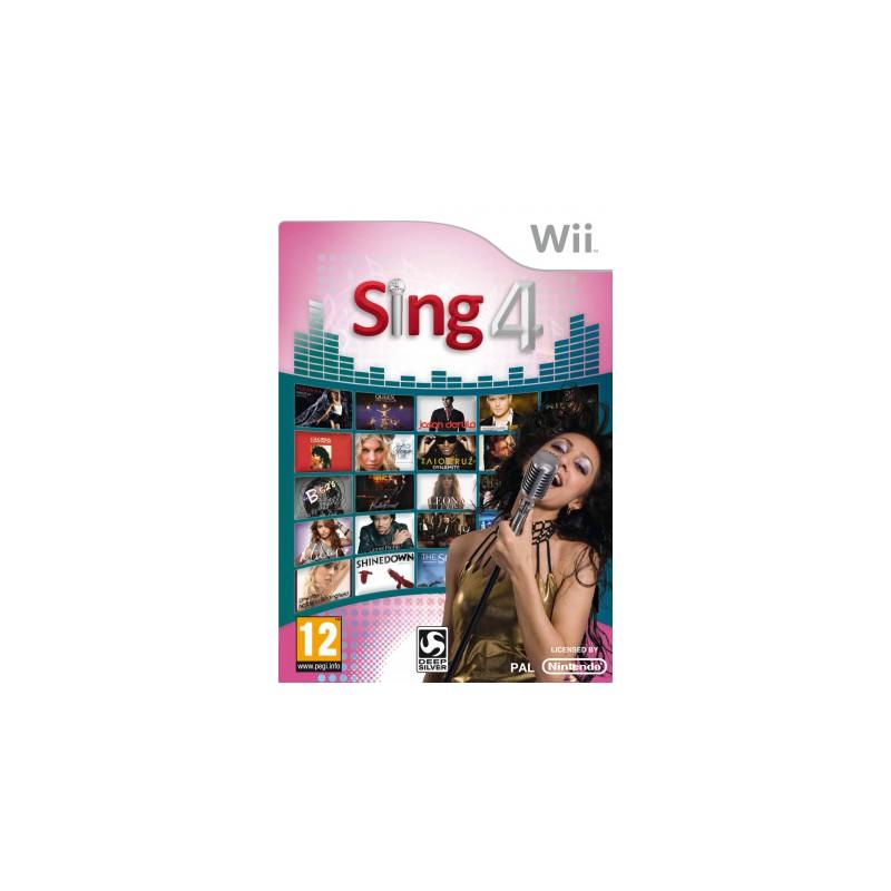 WII SING 4 - Jeux Wii au prix de 7,95€
