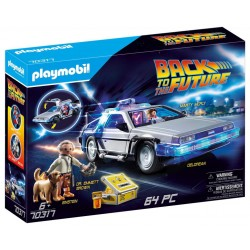 PLAYMOBIL BACK TO THE FUTUR DELOREAN - Puzzles & Jouets au prix de 49,95 €