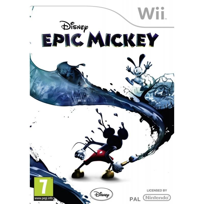 WII EPIC MICKEY - Jeux Wii au prix de 9,95€
