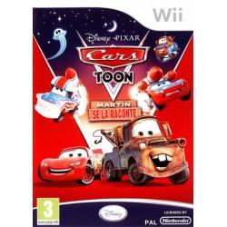 WII CARS TOON MARTIN SE LA RACONTE - Jeux Wii au prix de 9,95€